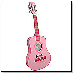 Six-String Student Guitar - Pink by SCHOENHUT PIANO COMPANY