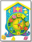 Shape Sorting Clock by TOP SHELF HOLDINGS LLC