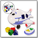 Jumbo the Jet Shape Sorter Remote Control Airplane by THE LEARNING JOURNEY INTERNATIONAL