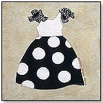 Wall Art - Nautical Girl III (Polka Dots) by Creative Images - Art4Kids