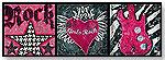 Rock Star Girl Wall Art by OOPSY DAISY