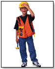 Small Miracles Construction Worker Dress Up by SCHYLLING
