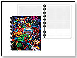 Marvel Comics 17 Character League Wrapped Panel Journal by ISCREAM