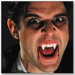 Custom Designer Dracula Fangs by FOOTHILLS CREATIONS, LTD.