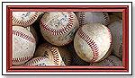 Wall Art - Baseballs by Creative Images - Art4Kids