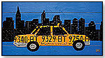 Wall Decor - New York Taxi (License Plate) by Creative Images - Art4Kids
