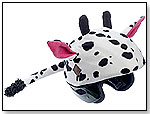 Tail Wags Daisy the Cow Helmet Cover by TAIL WAGS HELMET COVERS INC.