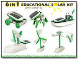 6 in 1 Educational Solar Kit by OWI INC.