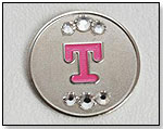 Mag-tagz™ Interchangeable Necklace Tags - Initial by MAG-TAGZ DESIGNS LLC