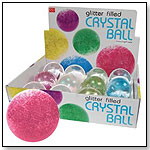 Glitter Filled Crystal Ball by DÉCOR CRAFT