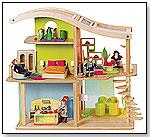 Bamboo Sunshine Dollhouse by HAPE