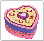 Decorate-Your-Own Wooden Heart Box by MELISSA & DOUG