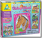 Sticky Mosaics® Riding School by THE ORB FACTORY LIMITED