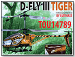 Ultimass Radio-Controlled D-Fly III Tiger Helicopter by EMIRIMAGE CORP.