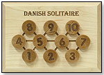 Danish Solitaire by MAPLE LANDMARK WOODCRAFT CO.