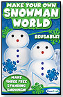 Make Your Own Snowman World by DUNECRAFT INC.