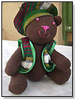 Teddy Bear from Afghanistan by ONE WORLD PROJECTS INC.