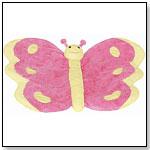 Butterfly Baby Mat by BESTEVER INC.