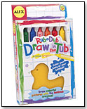 Rub a Dub Draw in the Tub by ALEX BRANDS