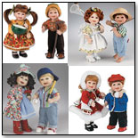 """Boys Will Be Boys and Girls Will Be Girls"" Dolls: Four Seasons by MARIE OSMOND DOLLS"