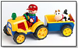 Tolo First Friends Tractor and Trailer by SMALL WORLD TOYS