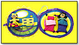 Danny First Snuggle & Play Pillows by PLAYGROUND ENTERPRISES INC./DANNY FIRST TOYS