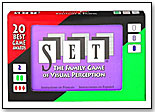 SET® – The Family Game of Visual Perception® by SET ENTERPRISES INC.