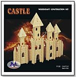 Castle Woodcraft Construction Kit by PUZZLED, INC.