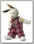 Bunny With Overalls by STEIFF NORTH AMERICA