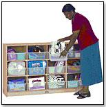 Cubbie Storage Unit by JONTI-CRAFT INC.