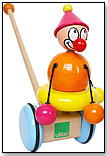 August the Clown Push Toy by VILAC