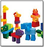 Creanimaux Wooden Animal Blocks by DJECO