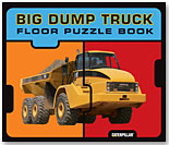 Big Dump Truck Floor Puzzle Book by CHRONICLE BOOKS FOR CHILDREN