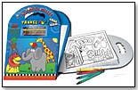 Travel Activity Tote Book by SCRIBBLE MATS