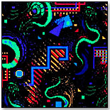 The Neon Blacklight Collection by FLAGSHIP CARPETS