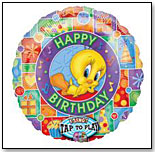 Tweety Birthday Balloon by BRODY'S BALLOONS