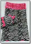 Zebra Slumber Sack by KELLY KOUTURE