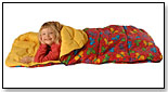 Bright Butterfly Slumber Bag by BAZOONGI KIDS
