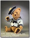 Bears-at-Sea Bear Bo-Sun by R. JOHN WRIGHT DOLLS INC.