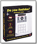 Do You Sudoku? Electronic Game by UNIVERSITY GAMES