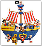 Pirate Ship Playset by TOY WORKSHOP