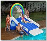 Waterpark Rainbow Water Slide by POOLMASTER