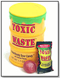 Toxic Waste® Hazardously Sour Candy® by CANDY DYNAMICS