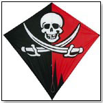 Jolly Roger Classic 6ft. Diamond Kite by GO FLY A KITE INC.