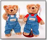 American Travel Teddy Bears by HERRINGTON TEDDY BEAR COMPANY