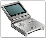 Game Boy Advance SP by NINTENDO OF AMERICA INC.