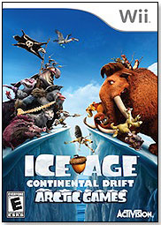 ice age continental drift video game activision wii