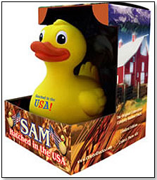 rubber duck ducky usa made toys