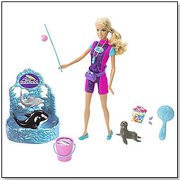 barbie whale trainer sea world mattel peta