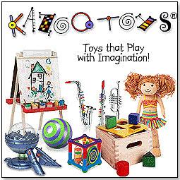 kazoo toys charity donation logo toy store specialty toys